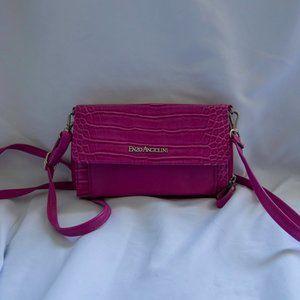 Enzo Angiolini Pink Crossbody Purse Wallet